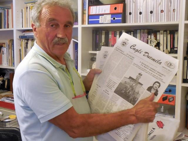 Mario Carnali: Cagli's Journalist Since 1973
