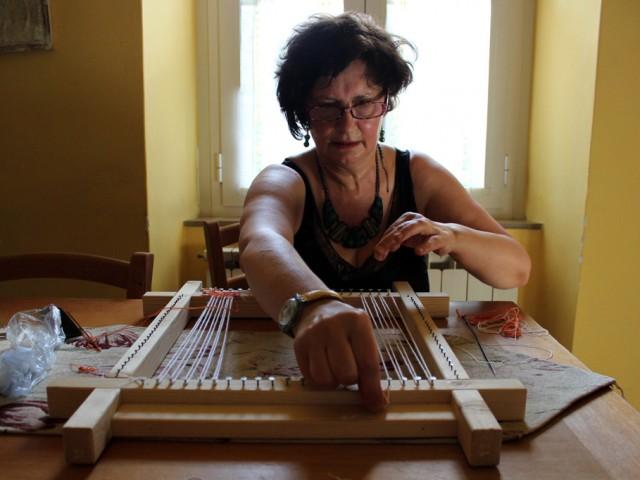 Patrizia Palazzetti: Tessere artist