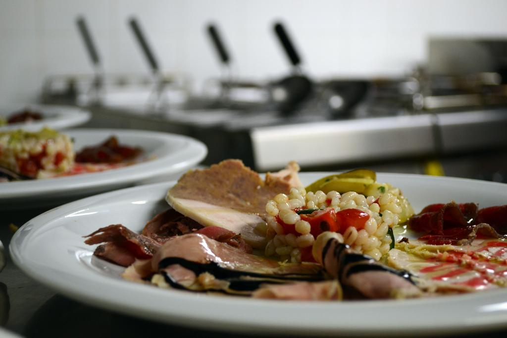 Entree at La Gioconda. Story on Chef Gabriele Giaomucci. Photo by Jamie Perkins