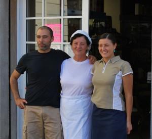 The Luchini Family: Lorenzo, Maria, & Elena